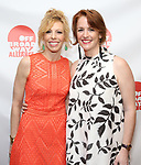 Maddie Corman and Carmela Dean  attends the 2019 Off Broadway Alliance Awards Reception at Sardi's on June 18, 2019 in New York City.