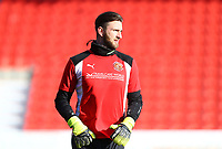 Chris Neal of Fleetwood Town during the Sky Bet League 1 match between Doncaster Rovers and Fleetwood Town at the Keepmoat Stadium, Doncaster, England on 17 February 2018. Photo by Leila Coker / PRiME Media Images.