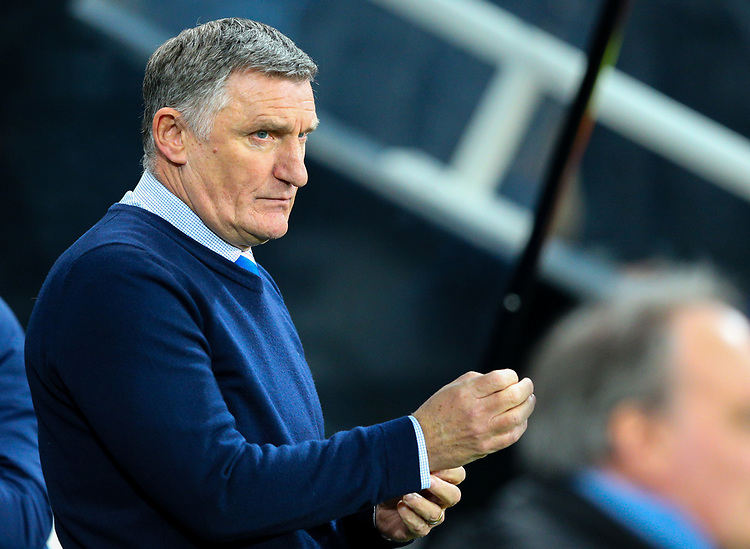 Blackburn Rovers manager Tony Mowbray<br /> <br /> Photographer Alex Dodd/CameraSport<br /> <br /> Emirates FA Cup Third Round - Newcastle United v Blackburn Rovers - Saturday 5th January 2019 - St James' Park - Newcastle<br />  <br /> World Copyright © 2019 CameraSport. All rights reserved. 43 Linden Ave. Countesthorpe. Leicester. England. LE8 5PG - Tel: +44 (0) 116 277 4147 - admin@camerasport.com - www.camerasport.com