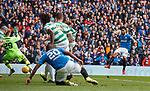 11.3.2018 Rangers v Celtic:<br /> Daniel Candeias scores