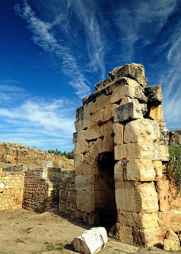 Tomb in the necropolis or Hierapolis, Turkey