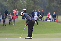 Poor Saksansin (THA) on the 3rd green during Round 3 of the UBS Hong Kong Open, at Hong Kong golf club, Fanling, Hong Kong. 25/11/2017<br /> Picture: Golffile | Thos Caffrey<br /> <br /> <br /> All photo usage must carry mandatory copyright credit     (© Golffile | Thos Caffrey)