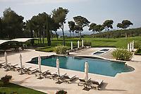 Europe/France/Provence-Alpes-Côte d'Azur/83/Var/Le Castellet: Piscine et golf de l' Hôtel du Castellet