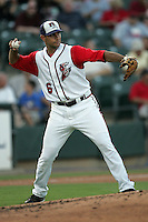 Saccomanno, Mark 6124.jpg. Pacific Coast League. Nashville Sounds at Round Rock Express. Dell Diamond. June 28th, 2008 in Round Rock Texas. Photo by Andrew Woolley.