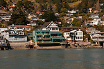 Tiburon Houses, Waterfront, near San Francisco, California, USA.  Photo copyright Lee Foster.  Photo # california108105