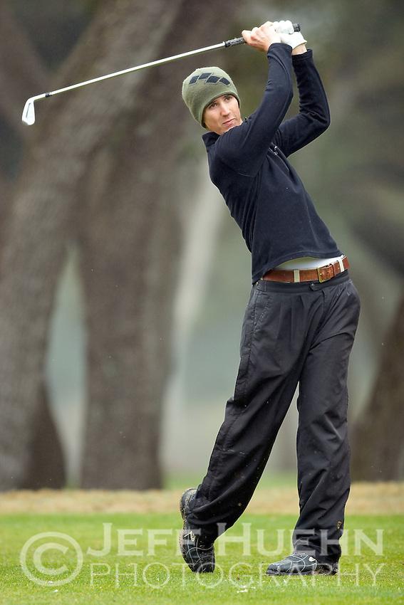 SAN ANTONIO, TX - FEBRUARY 21, 2006: The University of Texas at San Antonio Intercollegiate Men's Golf Tournament at Oak Hills Country Club. (Photo by Jeff Huehn)