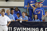 The University of Florida Men's Swimming & Diving Team compete at the 2011 Men's NCAA Swimming & Diving Championships being held at the University of Minnesota in Minneapolis, MN. March 24th - 26th, 2011.