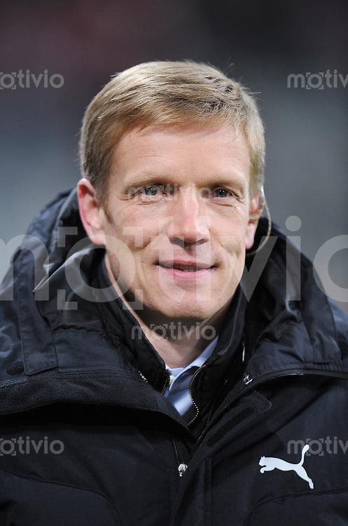 Fussball 1. Bundesliga   Saison   2009/2010  18. Spieltag  15.01.2010 FC Bayern Muenchen  - 1899 Hoffenheim Manager Jan SCHINDELMEISER (Hoffenheim)