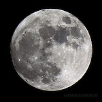 Full Moon closeup