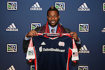 January 17th, 2013: #1 draft pick Andrew Farrell, selected by the New England Revolution. The 2013 MLS SuperDraft was held during the NSCAA Annual Convention held in Indianapolis, Indiana.