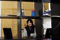 Roma, 29 Marzo 2014<br /> Centocelle<br /> Le e gli occupanti del palazzo sgomberato e messo sotto sequestro il 19 Marzo scorso e poi rientrate/i con dissequestro temporaneo,  organizzano una festa aperta alla cittadinanza.<br /> Laura nella sua stanza autoristrutturata .<br /> House, the occupation of Via delle Acacie open to the city.