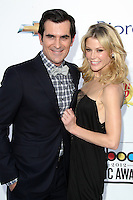 Ty Burrell and Julie Bowen at the 2012 Billboard Music Awards held at the MGM Grand Garden Arena on May 20, 2012 in Las Vegas, Nevada. © mpi28/MediaPUnch Inc.