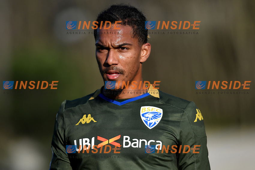 Florian Aye of Brescia Calcio <br /> Roma 30/12/2019 Stadio Giulio Onesti <br /> Football  Friendly match <br /> Trastevere Calcio - Brescia FC <br /> Photo Andrea Staccioli / Insidefoto