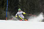 10.03.2018, Ofterschwanger Horn, Ofterschwang, GER, Slalom Weltcup in Ofterschwang, im Bild Katharina Liensberger (AUT, #15)<br /> <br /> Foto &copy; nordphoto / Hafner