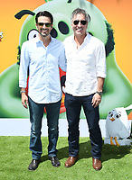 """10 August 2019 - Westwood, California - David Maisel, Jonathan Stewart. Sony's """"The Angry Birds Movie 2"""" Los Angeles Premiere held at Regency Village Theater.   <br /> CAP/ADM/BT<br /> ©BT/ADM/Capital Pictures"""
