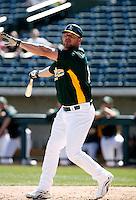 Jason Giambi - Oakland Athletics - 2009 spring training.Photo by:  Bill Mitchell/Four Seam Images