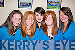 Singers from St. Senan's Club who took part in the North Kerry Sco?r Finals on Saturday night were Maria and Catriona O'Halloran, Connie Barry, Michelle Enright and Catherine Dillon..   Copyright Kerry's Eye 2008
