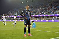 San Jose, CA - Monday July 10, 2017: Danny Hoesen during a U.S. Open Cup quarterfinal match between the San Jose Earthquakes and the Los Angeles Galaxy at Avaya Stadium.