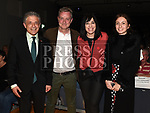 Turkish Ambassador H.E. Levent Murat Burhan with Yagmur Burhan, Robert Finan and Miriam Simon at the Lord Mayor's show in The Barbican Centre. Photo:Colin Bell/pressphotos.ie