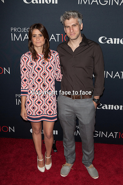 NEW YORK, NY - OCTOBER 24, 2013:  Priscilla Joseph and Max Joseph attend the Premiere Of Canon's Project Imaginat10n Film Festival at Alice Tully Hall on October 24, 2013 in New York City. <br />