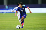 Rika Masuya (JPN), <br /> SEPTEMBER 18, 2014 - Football / Soccer : <br /> Women's Group Stage <br /> between Japan Women's 12-0 Jordan Women's <br /> at Namdong Asiad Rugby Field <br /> during the 2014 Incheon Asian Games in Incheon, South Korea. <br /> (Photo by YUTAKA/AFLO SPORT)