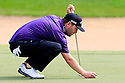 Branden Grace (RSA) in action during the final round of the Abu Dhabi HSBC Golf Championship played at Abu Dhabi Golf Club, UAE 15-18 January 2015.(Picture Credit / Phil Inglis)