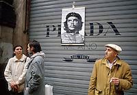 "- antifascist demonstration on April 25, 1994, anniversary of Liberation, promoted by the communist newspaper ""Il Manifesto""....- manifestazione antifascista per il 25 aprile 1994, anniversario della Liberazione, promossa dal quotidiano comunista ""Il Manifesto"""