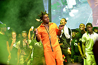 CORAL GABLES, FL - AUGUST 10: Kodak Black, PnB Rock and Jack Boy performs on stage at his Homecoming Concert first show since getting home from jail in June at Watsco Center on August 10, 2017 in Coral Gables, Florida.  Credit: MPI10 / MediaPunch