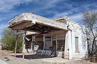 Abandoned Gas Station in Encino, NM