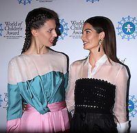 NEW YORK, NY-October 27: Ruby Aldridge, Lily Aldridge at  World of Children Awards 2016 at  583 Park Avenue in New York.October 27, 2016. Credit:RW/MediaPunch