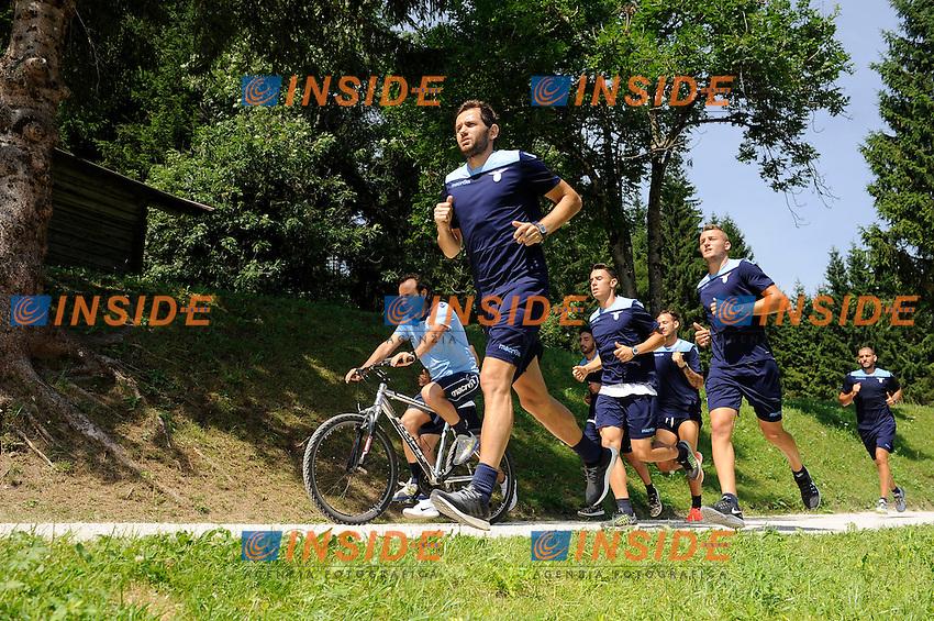 Senad Lulic <br /> 11-07-2016 Auronzo di Cadore ( Belluno ) <br /> SS Lazio pre season training camp <br /> Ritiro estivo S.S. Lazio ad Auronzo di Cadore in preparazione per la stagione 2016-2017<br /> Foto Marco Rosi/Fotonotizia/Insidefoto