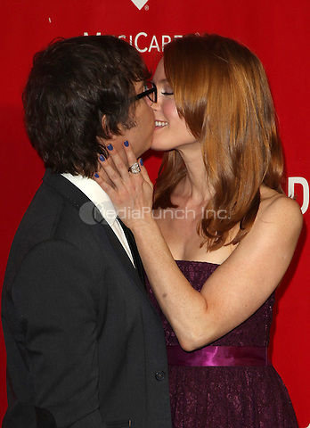 Los Angeles, California - January 24: Ben Folds, Alicia Witt at 2014 MusiCares Person Of The Year Honoring Carole King on  January 24, 2014 at Los Angeles Convention Center, California. © RTNUPA/MediaPunch