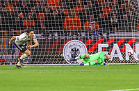 goal, Tor zum 2:3 für Nico Schulz (Deutschland Germany), Torwart Jasper Cillessen (Niederlande) machtlos - 24.03.2019: Niederlande vs. Deutschland, EM-Qualifikation, Amsterdam Arena, DISCLAIMER: DFB regulations prohibit any use of photographs as image sequences and/or quasi-video.