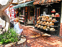 Olvera Street In Downtown Los Angeles