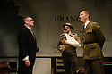 Bob Benton and Daniel Brodie for DB Productions in association with Park Theatre present the World Premiere of<br /> &quot;The Patriotic Traitor&quot;<br /> written and directed by Jonathan Lynn. Picture shows: Tom Mannion (Lord Halifax), James Chalmers, Laurence Fox (Charles de Gaulle)