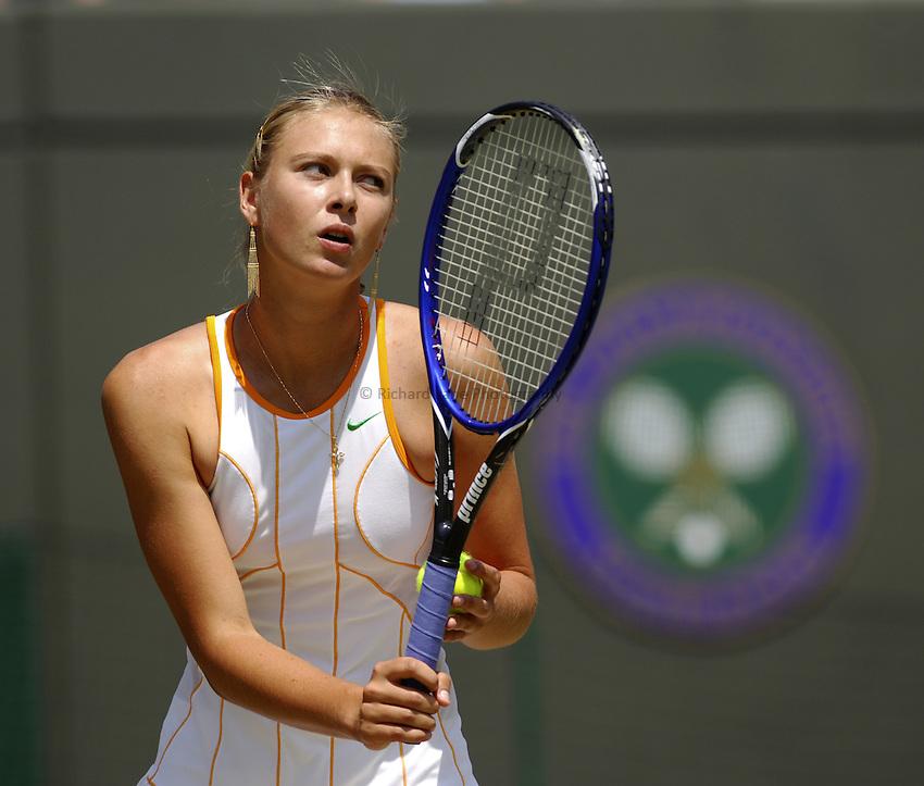 Photo. Jed Wee..Wimbledon Championships. 28/06/2005..Maria Sharapova.