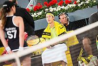 Japanese Kei Nishikori during ATP Semi-Finals Mutua Madrid Open Tennis 2016 in Madrid, May 07, 2016. (ALTERPHOTOS/BorjaB.Hojas) /NortePhoto.com