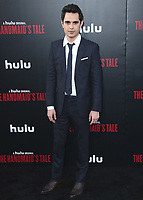 """HOLLYWOOD, CA - APRIL 19:  Max Minghella  at the premiere Of Hulu's """"The Handmaid's Tale"""" Season 2 at TCL Chinese Theatre on April 19, 2018 in Hollywood, California. (Photo by Scott KirklandPictureGroup)"""