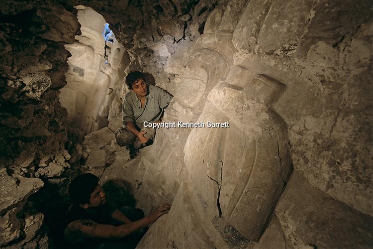 Early Pre-Classic, Stucco, Mask, Holmul, Guatemala, Maya, Francisco Estradabelli, Cival