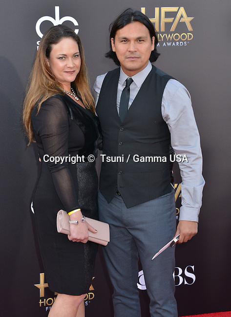 Adam Beach 132 at the Hollywood Film Awards 2014 at the Palladium on Nov. 14, 2014 in Los Angeles.