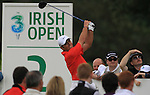 Francesco Molinari teeing off on the final day of the 3 Irish Open, at the Killarney Golf and Fishing Club, Killarney, Ireland.Picture Fran Caffrey/www.golffile.ie.