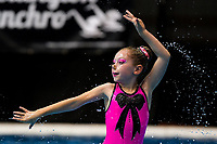 Day One of the 2018 North Island Synchronised Swimming Championships at Wellington Regional Aquatics Centre in Wellington, New Zealand on Saturday, 19 May 2018. Photo: Dave Lintott / lintottphoto.co.nz