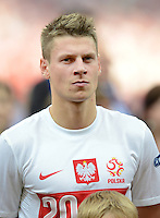 FUSSBALL  EUROPAMEISTERSCHAFT 2012   VORRUNDE Polen - Griechenland      08.06.2012 ?ukasz Piszczek (Polen)