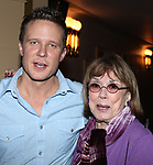 """Will Chase & Phyllis Newman at the Final Performance After Party for the ENCORES! Production of  """"Bells Are Ringing"""" in New York City."""