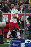30.11.2019, RheinEnergieStadion, Koeln, GER, 1. FBL, 1.FC Koeln vs. FC Augsburg,<br />  <br /> DFL regulations prohibit any use of photographs as image sequences and/or quasi-video<br /> <br /> im Bild / picture shows: <br /> Rafael Czichos (FC Koeln #5),    geht nach rot-gelb in die Kabine<br /> <br /> Foto © nordphoto / Meuter