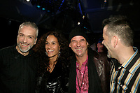 Guy Laliberte  and creators of<br />  the Cirque du Soleil - DELIRIEM premiere  in Montreal , February 26, 2006<br /> photo : (c) by JP Proulx - Images Distribution