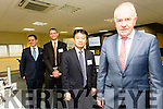 At the opening of the new JRI offices in the Kerry Technology Park were Martin Shanahan, IDA, Michael O'Dea, JRIA, SMBC, Tomoyuki Kawanaka, JRI Tokyo, Minister of State for the Diaspora Jimmy Deenihan