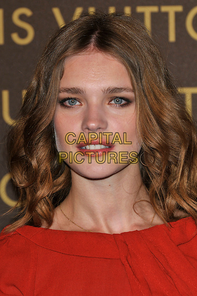 NATALIA VODIANOVA .attends the launch of the Louis Vuitton Bond Street Maison Store in London, England, UK, May 25th, 2010. .portrait headshot red eyeliner make-up lipstick .CAP/PL.©Phil Loftus/Capital Pictures.