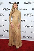 BROOKLYN, NY - NOVEMBER 13: Gigi Hadid  at Glamour's 2017 Women Of The Year Awards at the Kings Theater in Brooklyn, New York City on November 13, 2017. Credit: John Palmer/MediaPunch
