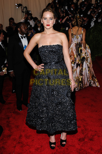 Jennifer Lawrence.'PUNK: Chaos To Couture' Costume Institute Gala held at the Metropolitan Museum of Art, New York, USA 6th May 2012.CAP/ADM/CS.©Christopher Smith/AdMedia/Capital Pictures